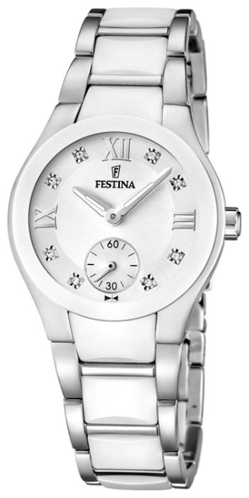 Festina F16588.2 - женские наручные часы из коллекции CeramicFestina<br><br><br>Бренд: Festina<br>Модель: Festina F16588/2<br>Артикул: F16588.2<br>Вариант артикула: None<br>Коллекция: Ceramic<br>Подколлекция: None<br>Страна: Испания<br>Пол: женские<br>Тип механизма: кварцевые<br>Механизм: M1L45<br>Количество камней: None<br>Автоподзавод: None<br>Источник энергии: от батарейки<br>Срок службы элемента питания: None<br>Дисплей: стрелки<br>Цифры: римские<br>Водозащита: WR 50<br>Противоударные: None<br>Материал корпуса: нерж. сталь + керамика<br>Материал браслета: нерж. сталь + керамика<br>Материал безеля: None<br>Стекло: минеральное<br>Антибликовое покрытие: None<br>Цвет корпуса: None<br>Цвет браслета: None<br>Цвет циферблата: None<br>Цвет безеля: None<br>Размеры: 32x9 мм<br>Диаметр: None<br>Диаметр корпуса: None<br>Толщина: None<br>Ширина ремешка: None<br>Вес: 94 г<br>Спорт-функции: None<br>Подсветка: стрелок<br>Вставка: None<br>Отображение даты: None<br>Хронограф: None<br>Таймер: None<br>Термометр: None<br>Хронометр: None<br>GPS: None<br>Радиосинхронизация: None<br>Барометр: None<br>Скелетон: None<br>Дополнительная информация: None<br>Дополнительные функции: None