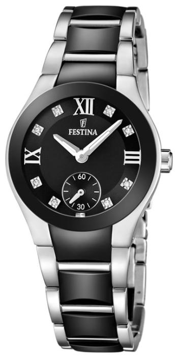 Festina F16588.3 - женские наручные часы из коллекции CeramicFestina<br><br><br>Бренд: Festina<br>Модель: Festina F16588/3<br>Артикул: F16588.3<br>Вариант артикула: None<br>Коллекция: Ceramic<br>Подколлекция: None<br>Страна: Испания<br>Пол: женские<br>Тип механизма: кварцевые<br>Механизм: M1L45<br>Количество камней: None<br>Автоподзавод: None<br>Источник энергии: от батарейки<br>Срок службы элемента питания: None<br>Дисплей: стрелки<br>Цифры: римские<br>Водозащита: WR 50<br>Противоударные: None<br>Материал корпуса: нерж. сталь + керамика<br>Материал браслета: нерж. сталь + керамика<br>Материал безеля: None<br>Стекло: минеральное<br>Антибликовое покрытие: None<br>Цвет корпуса: None<br>Цвет браслета: None<br>Цвет циферблата: None<br>Цвет безеля: None<br>Размеры: 32x9 мм<br>Диаметр: None<br>Диаметр корпуса: None<br>Толщина: None<br>Ширина ремешка: None<br>Вес: 94 г<br>Спорт-функции: None<br>Подсветка: стрелок<br>Вставка: None<br>Отображение даты: None<br>Хронограф: None<br>Таймер: None<br>Термометр: None<br>Хронометр: None<br>GPS: None<br>Радиосинхронизация: None<br>Барометр: None<br>Скелетон: None<br>Дополнительная информация: None<br>Дополнительные функции: None