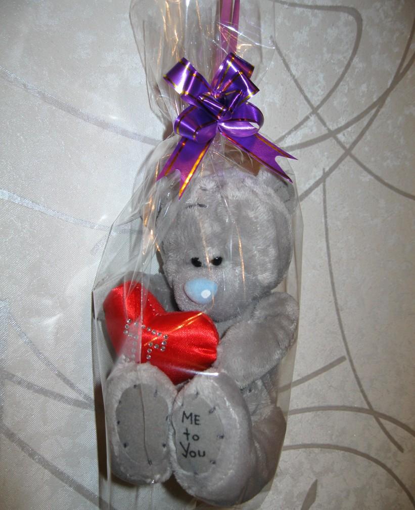Мягкие игрушки как упаковка для подарка 139
