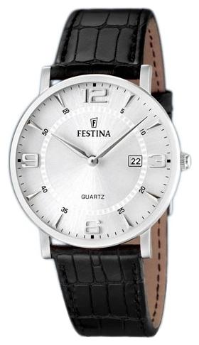 Festina F16476.3 - мужские наручные часы из коллекции ClassicFestina<br><br><br>Бренд: Festina<br>Модель: Festina F16476/3<br>Артикул: F16476.3<br>Вариант артикула: None<br>Коллекция: Classic<br>Подколлекция: None<br>Страна: Испания<br>Пол: мужские<br>Тип механизма: кварцевые<br>Механизм: None<br>Количество камней: None<br>Автоподзавод: None<br>Источник энергии: от батарейки<br>Срок службы элемента питания: None<br>Дисплей: стрелки<br>Цифры: арабские<br>Водозащита: WR 30<br>Противоударные: None<br>Материал корпуса: нерж. сталь<br>Материал браслета: кожа<br>Материал безеля: None<br>Стекло: минеральное<br>Антибликовое покрытие: None<br>Цвет корпуса: None<br>Цвет браслета: None<br>Цвет циферблата: None<br>Цвет безеля: None<br>Размеры: None<br>Диаметр: None<br>Диаметр корпуса: None<br>Толщина: None<br>Ширина ремешка: None<br>Вес: None<br>Спорт-функции: None<br>Подсветка: None<br>Вставка: None<br>Отображение даты: число<br>Хронограф: None<br>Таймер: None<br>Термометр: None<br>Хронометр: None<br>GPS: None<br>Радиосинхронизация: None<br>Барометр: None<br>Скелетон: None<br>Дополнительная информация: None<br>Дополнительные функции: None