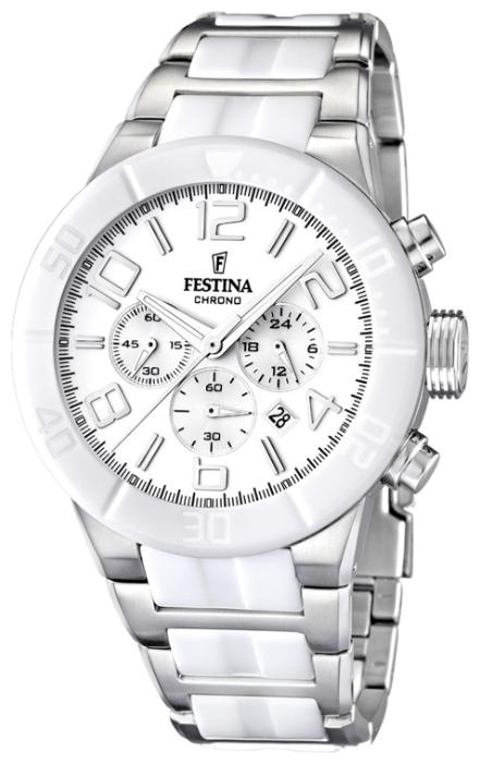 Festina F16576.1 - мужские наручные часы из коллекции CeramicFestina<br><br><br>Бренд: Festina<br>Модель: Festina F16576/1<br>Артикул: F16576.1<br>Вариант артикула: None<br>Коллекция: Ceramic<br>Подколлекция: None<br>Страна: Испания<br>Пол: мужские<br>Тип механизма: кварцевые<br>Механизм: None<br>Количество камней: None<br>Автоподзавод: None<br>Источник энергии: от батарейки<br>Срок службы элемента питания: None<br>Дисплей: стрелки<br>Цифры: арабские<br>Водозащита: WR 100<br>Противоударные: None<br>Материал корпуса: нерж. сталь + керамика<br>Материал браслета: нерж. сталь + керамика<br>Материал безеля: None<br>Стекло: минеральное<br>Антибликовое покрытие: None<br>Цвет корпуса: None<br>Цвет браслета: None<br>Цвет циферблата: None<br>Цвет безеля: None<br>Размеры: 46x13.6 мм<br>Диаметр: None<br>Диаметр корпуса: None<br>Толщина: None<br>Ширина ремешка: None<br>Вес: 203 г<br>Спорт-функции: секундомер<br>Подсветка: стрелок<br>Вставка: None<br>Отображение даты: число<br>Хронограф: есть<br>Таймер: None<br>Термометр: None<br>Хронометр: None<br>GPS: None<br>Радиосинхронизация: None<br>Барометр: None<br>Скелетон: None<br>Дополнительная информация: None<br>Дополнительные функции: None