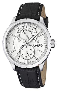 Festina F16573.1 - мужские наручные часы из коллекции RetroFestina<br><br><br>Бренд: Festina<br>Модель: Festina F16573/1<br>Артикул: F16573.1<br>Вариант артикула: None<br>Коллекция: Retro<br>Подколлекция: None<br>Страна: Испания<br>Пол: мужские<br>Тип механизма: кварцевые<br>Механизм: None<br>Количество камней: None<br>Автоподзавод: None<br>Источник энергии: от батарейки<br>Срок службы элемента питания: None<br>Дисплей: стрелки<br>Цифры: отсутствуют<br>Водозащита: WR 50<br>Противоударные: None<br>Материал корпуса: нерж. сталь<br>Материал браслета: кожа (не указан)<br>Материал безеля: None<br>Стекло: минеральное<br>Антибликовое покрытие: None<br>Цвет корпуса: None<br>Цвет браслета: None<br>Цвет циферблата: None<br>Цвет безеля: None<br>Размеры: 46x46x12 мм<br>Диаметр: None<br>Диаметр корпуса: None<br>Толщина: None<br>Ширина ремешка: None<br>Вес: None<br>Спорт-функции: None<br>Подсветка: стрелок<br>Вставка: None<br>Отображение даты: число<br>Хронограф: None<br>Таймер: None<br>Термометр: None<br>Хронометр: None<br>GPS: None<br>Радиосинхронизация: None<br>Барометр: None<br>Скелетон: None<br>Дополнительная информация: None<br>Дополнительные функции: None