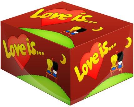 Блок жвачек Love is — Вишня-ЛимонДетям<br>Блок жвачек Love is — Вишня-Лимон<br>«Love is...» сегодня не просто жевательная резинка, а культурное явление, знаковый продукт 90-х годов.Одна подушечка «Love is...» способна перенести вас в мир детства, а история на вкладыше — подарить отличное настроение!<br><br>В коробке :100 шт.<br>Что внутри:Жевательная резинка Love Is... со вкусом вишни и лимона.<br>Вес:450 г.<br>Размер (ДхШхВ): 13,5 см х 7,3 см х 10,5 см<br>Производитель жевательной резинки:Турция<br>Срок годности:2 года<br>