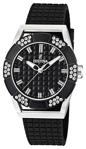 Festina F16563.3 - женские наручные часы из коллекции FashionFestina<br><br><br>Бренд: Festina<br>Модель: Festina F16563/3<br>Артикул: F16563.3<br>Вариант артикула: None<br>Коллекция: Fashion<br>Подколлекция: None<br>Страна: Испания<br>Пол: женские<br>Тип механизма: кварцевые<br>Механизм: M2035<br>Количество камней: None<br>Автоподзавод: None<br>Источник энергии: от батарейки<br>Срок службы элемента питания: None<br>Дисплей: стрелки<br>Цифры: отсутствуют<br>Водозащита: WR 50<br>Противоударные: None<br>Материал корпуса: нерж. сталь<br>Материал браслета: каучук<br>Материал безеля: None<br>Стекло: минеральное<br>Антибликовое покрытие: None<br>Цвет корпуса: None<br>Цвет браслета: None<br>Цвет циферблата: None<br>Цвет безеля: None<br>Размеры: 40 мм<br>Диаметр: None<br>Диаметр корпуса: None<br>Толщина: None<br>Ширина ремешка: None<br>Вес: None<br>Спорт-функции: None<br>Подсветка: стрелок<br>Вставка: циркон<br>Отображение даты: None<br>Хронограф: None<br>Таймер: None<br>Термометр: None<br>Хронометр: None<br>GPS: None<br>Радиосинхронизация: None<br>Барометр: None<br>Скелетон: None<br>Дополнительная информация: None<br>Дополнительные функции: None