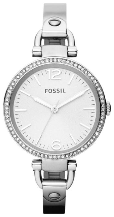 Fossil ES3225 - женские наручные часы из коллекции DressFossil<br><br><br>Бренд: Fossil<br>Модель: Fossil ES3225<br>Артикул: ES3225<br>Вариант артикула: None<br>Коллекция: Dress<br>Подколлекция: None<br>Страна: США<br>Пол: женские<br>Тип механизма: кварцевые<br>Механизм: None<br>Количество камней: None<br>Автоподзавод: None<br>Источник энергии: от батарейки<br>Срок службы элемента питания: None<br>Дисплей: стрелки<br>Цифры: арабские<br>Водозащита: WR 50<br>Противоударные: None<br>Материал корпуса: нерж. сталь<br>Материал браслета: нерж. сталь<br>Материал безеля: None<br>Стекло: минеральное<br>Антибликовое покрытие: None<br>Цвет корпуса: None<br>Цвет браслета: None<br>Цвет циферблата: None<br>Цвет безеля: None<br>Размеры: 32 мм<br>Диаметр: None<br>Диаметр корпуса: None<br>Толщина: None<br>Ширина ремешка: None<br>Вес: None<br>Спорт-функции: None<br>Подсветка: стрелок<br>Вставка: None<br>Отображение даты: None<br>Хронограф: None<br>Таймер: None<br>Термометр: None<br>Хронометр: None<br>GPS: None<br>Радиосинхронизация: None<br>Барометр: None<br>Скелетон: None<br>Дополнительная информация: None<br>Дополнительные функции: None