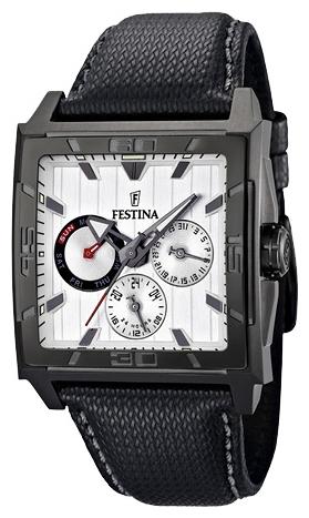 Festina F16569.1 - мужские наручные часы из коллекции MultifunctionFestina<br><br><br>Бренд: Festina<br>Модель: Festina F16569/1<br>Артикул: F16569.1<br>Вариант артикула: None<br>Коллекция: Multifunction<br>Подколлекция: None<br>Страна: Испания<br>Пол: мужские<br>Тип механизма: кварцевые<br>Механизм: M6P79<br>Количество камней: None<br>Автоподзавод: None<br>Источник энергии: от батарейки<br>Срок службы элемента питания: None<br>Дисплей: стрелки<br>Цифры: отсутствуют<br>Водозащита: WR 50<br>Противоударные: None<br>Материал корпуса: нерж. сталь, PVD покрытие (полное)<br>Материал браслета: кожа (теленок)<br>Материал безеля: None<br>Стекло: минеральное<br>Антибликовое покрытие: None<br>Цвет корпуса: None<br>Цвет браслета: None<br>Цвет циферблата: None<br>Цвет безеля: None<br>Размеры: 41x11.5 мм<br>Диаметр: None<br>Диаметр корпуса: None<br>Толщина: None<br>Ширина ремешка: None<br>Вес: None<br>Спорт-функции: None<br>Подсветка: стрелок<br>Вставка: None<br>Отображение даты: число, день недели<br>Хронограф: None<br>Таймер: None<br>Термометр: None<br>Хронометр: None<br>GPS: None<br>Радиосинхронизация: None<br>Барометр: None<br>Скелетон: None<br>Дополнительная информация: None<br>Дополнительные функции: None