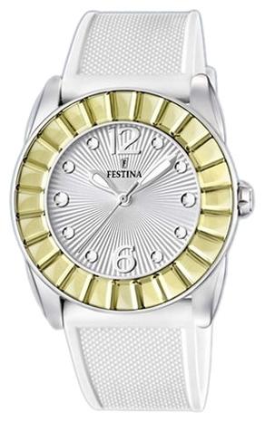 Festina F16540.2 - женские наручные часы из коллекции FashionFestina<br><br><br>Бренд: Festina<br>Модель: Festina F16540/2<br>Артикул: F16540.2<br>Вариант артикула: None<br>Коллекция: Fashion<br>Подколлекция: None<br>Страна: Испания<br>Пол: женские<br>Тип механизма: кварцевые<br>Механизм: MGL30<br>Количество камней: None<br>Автоподзавод: None<br>Источник энергии: от батарейки<br>Срок службы элемента питания: None<br>Дисплей: стрелки<br>Цифры: арабские<br>Водозащита: WR 50<br>Противоударные: None<br>Материал корпуса: нерж. сталь<br>Материал браслета: каучук<br>Материал безеля: None<br>Стекло: минеральное<br>Антибликовое покрытие: None<br>Цвет корпуса: None<br>Цвет браслета: None<br>Цвет циферблата: None<br>Цвет безеля: None<br>Размеры: 41.7x41.7 мм<br>Диаметр: None<br>Диаметр корпуса: None<br>Толщина: None<br>Ширина ремешка: None<br>Вес: None<br>Спорт-функции: None<br>Подсветка: стрелок<br>Вставка: None<br>Отображение даты: None<br>Хронограф: None<br>Таймер: None<br>Термометр: None<br>Хронометр: None<br>GPS: None<br>Радиосинхронизация: None<br>Барометр: None<br>Скелетон: None<br>Дополнительная информация: None<br>Дополнительные функции: None