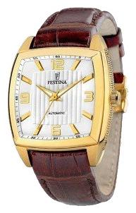 Festina F6754.A - мужские наручные часы из коллекции AutomaticFestina<br><br><br>Бренд: Festina<br>Модель: Festina F6754/A<br>Артикул: F6754.A<br>Вариант артикула: None<br>Коллекция: Automatic<br>Подколлекция: None<br>Страна: Испания<br>Пол: мужские<br>Тип механизма: механические<br>Механизм: M8N24<br>Количество камней: None<br>Автоподзавод: None<br>Источник энергии: пружинный механизм<br>Срок службы элемента питания: None<br>Дисплей: стрелки<br>Цифры: арабские<br>Водозащита: WR 30<br>Противоударные: None<br>Материал корпуса: нерж. сталь, полное покрытие корпуса<br>Материал браслета: кожа (не указан)<br>Материал безеля: None<br>Стекло: минеральное<br>Антибликовое покрытие: None<br>Цвет корпуса: None<br>Цвет браслета: None<br>Цвет циферблата: None<br>Цвет безеля: None<br>Размеры: 40x40 мм<br>Диаметр: None<br>Диаметр корпуса: None<br>Толщина: None<br>Ширина ремешка: None<br>Вес: None<br>Спорт-функции: None<br>Подсветка: стрелок<br>Вставка: None<br>Отображение даты: None<br>Хронограф: None<br>Таймер: None<br>Термометр: None<br>Хронометр: None<br>GPS: None<br>Радиосинхронизация: None<br>Барометр: None<br>Скелетон: None<br>Дополнительная информация: прозрачная задняя крышка<br>Дополнительные функции: None