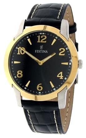 Festina F16508.3 - мужские наручные часы из коллекции ClassicFestina<br><br><br>Бренд: Festina<br>Модель: Festina F16508/3<br>Артикул: F16508.3<br>Вариант артикула: None<br>Коллекция: Classic<br>Подколлекция: None<br>Страна: Испания<br>Пол: мужские<br>Тип механизма: кварцевые<br>Механизм: M1L22<br>Количество камней: None<br>Автоподзавод: None<br>Источник энергии: от батарейки<br>Срок службы элемента питания: None<br>Дисплей: стрелки<br>Цифры: арабские<br>Водозащита: WR 50<br>Противоударные: None<br>Материал корпуса: нерж. сталь, покрытие: позолота<br>Материал браслета: кожа<br>Материал безеля: None<br>Стекло: минеральное<br>Антибликовое покрытие: None<br>Цвет корпуса: None<br>Цвет браслета: None<br>Цвет циферблата: None<br>Цвет безеля: None<br>Размеры: 40.5 мм<br>Диаметр: None<br>Диаметр корпуса: None<br>Толщина: None<br>Ширина ремешка: None<br>Вес: None<br>Спорт-функции: None<br>Подсветка: стрелок<br>Вставка: None<br>Отображение даты: None<br>Хронограф: None<br>Таймер: None<br>Термометр: None<br>Хронометр: None<br>GPS: None<br>Радиосинхронизация: None<br>Барометр: None<br>Скелетон: None<br>Дополнительная информация: None<br>Дополнительные функции: None