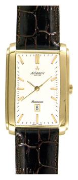 Atlantic 67340.45.11 - мужские наручные часы из коллекции SeamoonAtlantic<br><br><br>Бренд: Atlantic<br>Модель: Atlantic 67340.45.11<br>Артикул: 67340.45.11<br>Вариант артикула: None<br>Коллекция: Seamoon<br>Подколлекция: None<br>Страна: Швейцария<br>Пол: мужские<br>Тип механизма: кварцевые<br>Механизм: ETA F05.111<br>Количество камней: None<br>Автоподзавод: None<br>Источник энергии: от батарейки<br>Срок службы элемента питания: None<br>Дисплей: стрелки<br>Цифры: отсутствуют<br>Водозащита: WR 30<br>Противоударные: None<br>Материал корпуса: нерж. сталь, покрытие: позолота<br>Материал браслета: кожа<br>Материал безеля: None<br>Стекло: сапфировое<br>Антибликовое покрытие: None<br>Цвет корпуса: None<br>Цвет браслета: None<br>Цвет циферблата: None<br>Цвет безеля: None<br>Размеры: None<br>Диаметр: None<br>Диаметр корпуса: None<br>Толщина: None<br>Ширина ремешка: None<br>Вес: None<br>Спорт-функции: None<br>Подсветка: None<br>Вставка: None<br>Отображение даты: число<br>Хронограф: None<br>Таймер: None<br>Термометр: None<br>Хронометр: None<br>GPS: None<br>Радиосинхронизация: None<br>Барометр: None<br>Скелетон: None<br>Дополнительная информация: позолота 5 мкм<br>Дополнительные функции: None