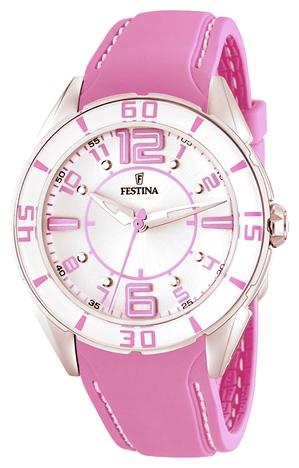 Festina F16492.5 - женские наручные часы из коллекции SportFestina<br><br><br>Бренд: Festina<br>Модель: Festina F16492/5<br>Артикул: F16492.5<br>Вариант артикула: None<br>Коллекция: Sport<br>Подколлекция: None<br>Страна: Испания<br>Пол: женские<br>Тип механизма: кварцевые<br>Механизм: None<br>Количество камней: None<br>Автоподзавод: None<br>Источник энергии: от батарейки<br>Срок службы элемента питания: None<br>Дисплей: стрелки<br>Цифры: арабские<br>Водозащита: WR 50<br>Противоударные: None<br>Материал корпуса: нерж. сталь<br>Материал браслета: кожа<br>Материал безеля: None<br>Стекло: минеральное<br>Антибликовое покрытие: None<br>Цвет корпуса: None<br>Цвет браслета: None<br>Цвет циферблата: None<br>Цвет безеля: None<br>Размеры: None<br>Диаметр: None<br>Диаметр корпуса: None<br>Толщина: None<br>Ширина ремешка: None<br>Вес: None<br>Спорт-функции: None<br>Подсветка: None<br>Вставка: None<br>Отображение даты: None<br>Хронограф: None<br>Таймер: None<br>Термометр: None<br>Хронометр: None<br>GPS: None<br>Радиосинхронизация: None<br>Барометр: None<br>Скелетон: None<br>Дополнительная информация: None<br>Дополнительные функции: None