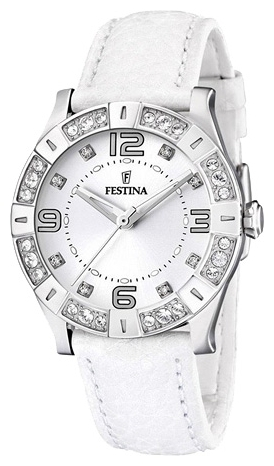 Festina F16537.1 - женские наручные часы из коллекции CeramicFestina<br><br><br>Бренд: Festina<br>Модель: Festina F16537/1<br>Артикул: F16537.1<br>Вариант артикула: None<br>Коллекция: Ceramic<br>Подколлекция: None<br>Страна: Испания<br>Пол: женские<br>Тип механизма: кварцевые<br>Механизм: M1L36<br>Количество камней: None<br>Автоподзавод: None<br>Источник энергии: от батарейки<br>Срок службы элемента питания: None<br>Дисплей: стрелки<br>Цифры: арабские<br>Водозащита: WR 50<br>Противоударные: None<br>Материал корпуса: нерж. сталь<br>Материал браслета: кожа<br>Материал безеля: None<br>Стекло: минеральное<br>Антибликовое покрытие: None<br>Цвет корпуса: None<br>Цвет браслета: None<br>Цвет циферблата: None<br>Цвет безеля: None<br>Размеры: 38 мм<br>Диаметр: None<br>Диаметр корпуса: None<br>Толщина: None<br>Ширина ремешка: None<br>Вес: None<br>Спорт-функции: None<br>Подсветка: None<br>Вставка: кристаллы Swarovski<br>Отображение даты: None<br>Хронограф: None<br>Таймер: None<br>Термометр: None<br>Хронометр: None<br>GPS: None<br>Радиосинхронизация: None<br>Барометр: None<br>Скелетон: None<br>Дополнительная информация: None<br>Дополнительные функции: None