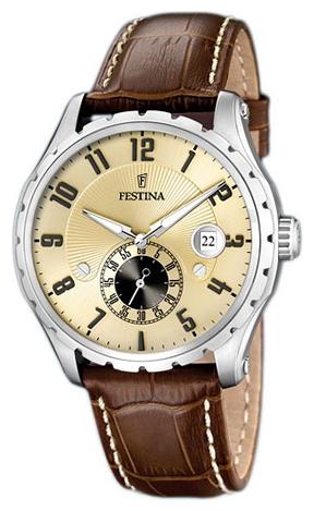 Festina F16486.2 - мужские наручные часы из коллекции ClassicFestina<br><br><br>Бренд: Festina<br>Модель: Festina F16486/2<br>Артикул: F16486.2<br>Вариант артикула: None<br>Коллекция: Classic<br>Подколлекция: None<br>Страна: Испания<br>Пол: мужские<br>Тип механизма: кварцевые<br>Механизм: None<br>Количество камней: None<br>Автоподзавод: None<br>Источник энергии: от батарейки<br>Срок службы элемента питания: None<br>Дисплей: стрелки<br>Цифры: арабские<br>Водозащита: WR 50<br>Противоударные: None<br>Материал корпуса: нерж. сталь<br>Материал браслета: кожа<br>Материал безеля: None<br>Стекло: минеральное<br>Антибликовое покрытие: None<br>Цвет корпуса: None<br>Цвет браслета: None<br>Цвет циферблата: None<br>Цвет безеля: None<br>Размеры: None<br>Диаметр: None<br>Диаметр корпуса: None<br>Толщина: None<br>Ширина ремешка: None<br>Вес: None<br>Спорт-функции: None<br>Подсветка: стрелок<br>Вставка: None<br>Отображение даты: число<br>Хронограф: None<br>Таймер: None<br>Термометр: None<br>Хронометр: None<br>GPS: None<br>Радиосинхронизация: None<br>Барометр: None<br>Скелетон: None<br>Дополнительная информация: None<br>Дополнительные функции: None
