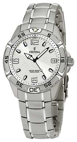 Festina F16171.1 - мужские наручные часы из коллекции SportFestina<br><br><br>Бренд: Festina<br>Модель: Festina F16171/1<br>Артикул: F16171.1<br>Вариант артикула: None<br>Коллекция: Sport<br>Подколлекция: None<br>Страна: Испания<br>Пол: мужские<br>Тип механизма: кварцевые<br>Механизм: M 2115<br>Количество камней: None<br>Автоподзавод: None<br>Источник энергии: от батарейки<br>Срок службы элемента питания: None<br>Дисплей: стрелки<br>Цифры: арабские<br>Водозащита: WR 100<br>Противоударные: None<br>Материал корпуса: нерж. сталь<br>Материал браслета: не указан<br>Материал безеля: None<br>Стекло: минеральное<br>Антибликовое покрытие: None<br>Цвет корпуса: None<br>Цвет браслета: None<br>Цвет циферблата: None<br>Цвет безеля: None<br>Размеры: 34x34 мм<br>Диаметр: None<br>Диаметр корпуса: None<br>Толщина: None<br>Ширина ремешка: None<br>Вес: None<br>Спорт-функции: None<br>Подсветка: стрелок<br>Вставка: None<br>Отображение даты: число<br>Хронограф: None<br>Таймер: None<br>Термометр: None<br>Хронометр: None<br>GPS: None<br>Радиосинхронизация: None<br>Барометр: None<br>Скелетон: None<br>Дополнительная информация: в комплекте сменный кожаный ремешок<br>Дополнительные функции: None