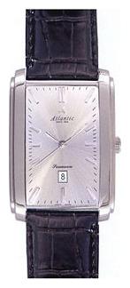 Atlantic 67740.41.21 - мужские наручные часы из коллекции SeamoonAtlantic<br><br><br>Бренд: Atlantic<br>Модель: Atlantic 67740.41.21<br>Артикул: 67740.41.21<br>Вариант артикула: None<br>Коллекция: Seamoon<br>Подколлекция: None<br>Страна: Швейцария<br>Пол: мужские<br>Тип механизма: механические<br>Механизм: None<br>Количество камней: None<br>Автоподзавод: есть<br>Источник энергии: пружинный механизм<br>Срок службы элемента питания: None<br>Дисплей: стрелки<br>Цифры: отсутствуют<br>Водозащита: WR 30<br>Противоударные: None<br>Материал корпуса: нерж. сталь<br>Материал браслета: кожа<br>Материал безеля: None<br>Стекло: сапфировое<br>Антибликовое покрытие: None<br>Цвет корпуса: None<br>Цвет браслета: None<br>Цвет циферблата: None<br>Цвет безеля: None<br>Размеры: 32x47 мм<br>Диаметр: None<br>Диаметр корпуса: None<br>Толщина: None<br>Ширина ремешка: None<br>Вес: None<br>Спорт-функции: None<br>Подсветка: None<br>Вставка: None<br>Отображение даты: число<br>Хронограф: None<br>Таймер: None<br>Термометр: None<br>Хронометр: None<br>GPS: None<br>Радиосинхронизация: None<br>Барометр: None<br>Скелетон: None<br>Дополнительная информация: запас хода 38 часов<br>Дополнительные функции: None