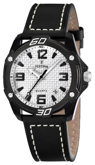 Festina F16491.1 - мужские наручные часы из коллекции SportFestina<br><br><br>Бренд: Festina<br>Модель: Festina F16491/1<br>Артикул: F16491.1<br>Вариант артикула: None<br>Коллекция: Sport<br>Подколлекция: None<br>Страна: Испания<br>Пол: мужские<br>Тип механизма: кварцевые<br>Механизм: None<br>Количество камней: None<br>Автоподзавод: None<br>Источник энергии: от батарейки<br>Срок службы элемента питания: None<br>Дисплей: стрелки<br>Цифры: арабские<br>Водозащита: WR 30<br>Противоударные: None<br>Материал корпуса: нерж. сталь, PVD покрытие<br>Материал браслета: кожа<br>Материал безеля: None<br>Стекло: минеральное<br>Антибликовое покрытие: None<br>Цвет корпуса: None<br>Цвет браслета: None<br>Цвет циферблата: None<br>Цвет безеля: None<br>Размеры: 47x47x12 мм<br>Диаметр: None<br>Диаметр корпуса: None<br>Толщина: None<br>Ширина ремешка: None<br>Вес: None<br>Спорт-функции: None<br>Подсветка: стрелок<br>Вставка: None<br>Отображение даты: число<br>Хронограф: None<br>Таймер: None<br>Термометр: None<br>Хронометр: None<br>GPS: None<br>Радиосинхронизация: None<br>Барометр: None<br>Скелетон: None<br>Дополнительная информация: элемент питания SR626SW, срок службы батарейки 35 месяцев<br>Дополнительные функции: None