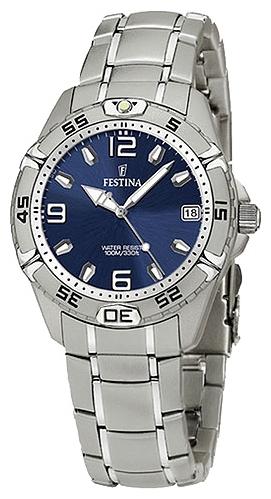 Festina F16171.4 - унисекс наручные часы из коллекции SportFestina<br><br><br>Бренд: Festina<br>Модель: Festina F16171/4<br>Артикул: F16171.4<br>Вариант артикула: None<br>Коллекция: Sport<br>Подколлекция: None<br>Страна: Испания<br>Пол: унисекс<br>Тип механизма: кварцевые<br>Механизм: None<br>Количество камней: None<br>Автоподзавод: None<br>Источник энергии: от батарейки<br>Срок службы элемента питания: None<br>Дисплей: стрелки<br>Цифры: арабские<br>Водозащита: WR 100<br>Противоударные: None<br>Материал корпуса: нерж. сталь<br>Материал браслета: не указан<br>Материал безеля: None<br>Стекло: минеральное<br>Антибликовое покрытие: None<br>Цвет корпуса: None<br>Цвет браслета: None<br>Цвет циферблата: None<br>Цвет безеля: None<br>Размеры: 35x35x11 мм<br>Диаметр: None<br>Диаметр корпуса: None<br>Толщина: None<br>Ширина ремешка: None<br>Вес: None<br>Спорт-функции: None<br>Подсветка: стрелок<br>Вставка: None<br>Отображение даты: число<br>Хронограф: None<br>Таймер: None<br>Термометр: None<br>Хронометр: None<br>GPS: None<br>Радиосинхронизация: None<br>Барометр: None<br>Скелетон: None<br>Дополнительная информация: элемент питания SR626SW, срок службы батарейки 35 месяцев<br>Дополнительные функции: None