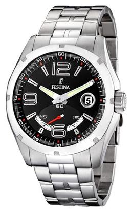 Festina F16480.3 - мужские наручные часы из коллекции SportFestina<br><br><br>Бренд: Festina<br>Модель: Festina F16480/3<br>Артикул: F16480.3<br>Вариант артикула: None<br>Коллекция: Sport<br>Подколлекция: None<br>Страна: Испания<br>Пол: мужские<br>Тип механизма: кварцевые<br>Механизм: None<br>Количество камней: None<br>Автоподзавод: None<br>Источник энергии: от батарейки<br>Срок службы элемента питания: None<br>Дисплей: стрелки<br>Цифры: арабские<br>Водозащита: WR 100<br>Противоударные: None<br>Материал корпуса: нерж. сталь<br>Материал браслета: не указан<br>Материал безеля: None<br>Стекло: минеральное<br>Антибликовое покрытие: None<br>Цвет корпуса: None<br>Цвет браслета: None<br>Цвет циферблата: None<br>Цвет безеля: None<br>Размеры: None<br>Диаметр: None<br>Диаметр корпуса: None<br>Толщина: None<br>Ширина ремешка: None<br>Вес: None<br>Спорт-функции: None<br>Подсветка: стрелок<br>Вставка: None<br>Отображение даты: число<br>Хронограф: None<br>Таймер: None<br>Термометр: None<br>Хронометр: None<br>GPS: None<br>Радиосинхронизация: None<br>Барометр: None<br>Скелетон: None<br>Дополнительная информация: None<br>Дополнительные функции: None