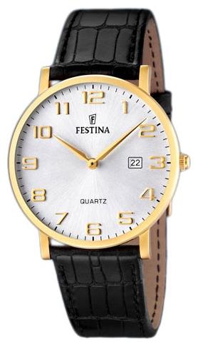 Festina F16478.2 - мужские наручные часы из коллекции ClassicFestina<br><br><br>Бренд: Festina<br>Модель: Festina F16478/2<br>Артикул: F16478.2<br>Вариант артикула: None<br>Коллекция: Classic<br>Подколлекция: None<br>Страна: Испания<br>Пол: мужские<br>Тип механизма: кварцевые<br>Механизм: None<br>Количество камней: None<br>Автоподзавод: None<br>Источник энергии: от батарейки<br>Срок службы элемента питания: None<br>Дисплей: стрелки<br>Цифры: арабские<br>Водозащита: WR 50<br>Противоударные: None<br>Материал корпуса: нерж. сталь, покрытие: позолота<br>Материал браслета: кожа<br>Материал безеля: None<br>Стекло: минеральное<br>Антибликовое покрытие: None<br>Цвет корпуса: None<br>Цвет браслета: None<br>Цвет циферблата: None<br>Цвет безеля: None<br>Размеры: None<br>Диаметр: None<br>Диаметр корпуса: None<br>Толщина: None<br>Ширина ремешка: None<br>Вес: None<br>Спорт-функции: None<br>Подсветка: None<br>Вставка: None<br>Отображение даты: число<br>Хронограф: None<br>Таймер: None<br>Термометр: None<br>Хронометр: None<br>GPS: None<br>Радиосинхронизация: None<br>Барометр: None<br>Скелетон: None<br>Дополнительная информация: None<br>Дополнительные функции: None