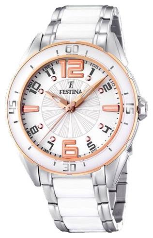 Festina F16396.1 - женские наручные часы из коллекции SportFestina<br><br><br>Бренд: Festina<br>Модель: Festina F16396/1<br>Артикул: F16396.1<br>Вариант артикула: None<br>Коллекция: Sport<br>Подколлекция: None<br>Страна: Испания<br>Пол: женские<br>Тип механизма: кварцевые<br>Механизм: None<br>Количество камней: None<br>Автоподзавод: None<br>Источник энергии: от батарейки<br>Срок службы элемента питания: None<br>Дисплей: стрелки<br>Цифры: арабские<br>Водозащита: WR 30<br>Противоударные: None<br>Материал корпуса: нерж. сталь, покрытие: позолота (частичное)<br>Материал браслета: не указан<br>Материал безеля: None<br>Стекло: минеральное<br>Антибликовое покрытие: None<br>Цвет корпуса: None<br>Цвет браслета: None<br>Цвет циферблата: None<br>Цвет безеля: None<br>Размеры: 39.9x10.7 мм<br>Диаметр: None<br>Диаметр корпуса: None<br>Толщина: None<br>Ширина ремешка: None<br>Вес: 140 г<br>Спорт-функции: None<br>Подсветка: None<br>Вставка: None<br>Отображение даты: None<br>Хронограф: None<br>Таймер: None<br>Термометр: None<br>Хронометр: None<br>GPS: None<br>Радиосинхронизация: None<br>Барометр: None<br>Скелетон: None<br>Дополнительная информация: None<br>Дополнительные функции: None
