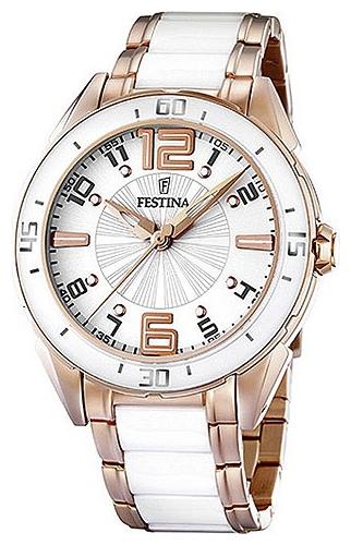 Festina F16397.1 - женские наручные часы из коллекции SportFestina<br><br><br>Бренд: Festina<br>Модель: Festina F16397/1<br>Артикул: F16397.1<br>Вариант артикула: None<br>Коллекция: Sport<br>Подколлекция: None<br>Страна: Испания<br>Пол: женские<br>Тип механизма: кварцевые<br>Механизм: None<br>Количество камней: None<br>Автоподзавод: None<br>Источник энергии: от батарейки<br>Срок службы элемента питания: None<br>Дисплей: стрелки<br>Цифры: арабские<br>Водозащита: WR 30<br>Противоударные: None<br>Материал корпуса: нерж. сталь, покрытие: позолота (частичное)<br>Материал браслета: не указан, покрытие: позолота (частичное)<br>Материал безеля: None<br>Стекло: минеральное<br>Антибликовое покрытие: None<br>Цвет корпуса: None<br>Цвет браслета: None<br>Цвет циферблата: None<br>Цвет безеля: None<br>Размеры: 39.9x10.7 мм<br>Диаметр: None<br>Диаметр корпуса: None<br>Толщина: None<br>Ширина ремешка: None<br>Вес: 140 г<br>Спорт-функции: None<br>Подсветка: None<br>Вставка: None<br>Отображение даты: None<br>Хронограф: None<br>Таймер: None<br>Термометр: None<br>Хронометр: None<br>GPS: None<br>Радиосинхронизация: None<br>Барометр: None<br>Скелетон: None<br>Дополнительная информация: None<br>Дополнительные функции: None
