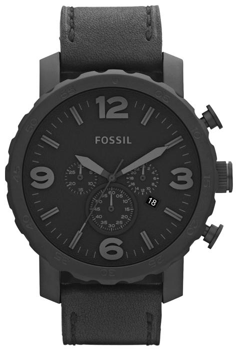 Fossil JR1354 - мужские наручные часыFossil<br><br><br>Бренд: Fossil<br>Модель: Fossil JR1354<br>Артикул: JR1354<br>Вариант артикула: None<br>Коллекция: None<br>Подколлекция: None<br>Страна: США<br>Пол: мужские<br>Тип механизма: кварцевые<br>Механизм: None<br>Количество камней: None<br>Автоподзавод: None<br>Источник энергии: от батарейки<br>Срок службы элемента питания: None<br>Дисплей: стрелки<br>Цифры: арабские<br>Водозащита: WR 50<br>Противоударные: None<br>Материал корпуса: нерж. сталь, IP покрытие (полное)<br>Материал браслета: кожа<br>Материал безеля: None<br>Стекло: минеральное<br>Антибликовое покрытие: None<br>Цвет корпуса: None<br>Цвет браслета: None<br>Цвет циферблата: None<br>Цвет безеля: None<br>Размеры: 50x13 мм<br>Диаметр: None<br>Диаметр корпуса: None<br>Толщина: None<br>Ширина ремешка: None<br>Вес: None<br>Спорт-функции: секундомер<br>Подсветка: None<br>Вставка: None<br>Отображение даты: число<br>Хронограф: есть<br>Таймер: None<br>Термометр: None<br>Хронометр: None<br>GPS: None<br>Радиосинхронизация: None<br>Барометр: None<br>Скелетон: None<br>Дополнительная информация: None<br>Дополнительные функции: None