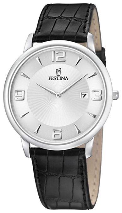 Festina F6806.1 - мужские наручные часы из коллекции ClassicFestina<br><br><br>Бренд: Festina<br>Модель: Festina F6806/1<br>Артикул: F6806.1<br>Вариант артикула: None<br>Коллекция: Classic<br>Подколлекция: None<br>Страна: Испания<br>Пол: мужские<br>Тип механизма: кварцевые<br>Механизм: Miyota M9U15<br>Количество камней: None<br>Автоподзавод: None<br>Источник энергии: от батарейки<br>Срок службы элемента питания: None<br>Дисплей: стрелки<br>Цифры: арабские<br>Водозащита: WR 30<br>Противоударные: None<br>Материал корпуса: нерж. сталь<br>Материал браслета: кожа<br>Материал безеля: None<br>Стекло: минеральное<br>Антибликовое покрытие: None<br>Цвет корпуса: None<br>Цвет браслета: None<br>Цвет циферблата: None<br>Цвет безеля: None<br>Размеры: 40x40x6 мм<br>Диаметр: None<br>Диаметр корпуса: None<br>Толщина: None<br>Ширина ремешка: None<br>Вес: None<br>Спорт-функции: None<br>Подсветка: None<br>Вставка: None<br>Отображение даты: число<br>Хронограф: None<br>Таймер: None<br>Термометр: None<br>Хронометр: None<br>GPS: None<br>Радиосинхронизация: None<br>Барометр: None<br>Скелетон: None<br>Дополнительная информация: None<br>Дополнительные функции: None