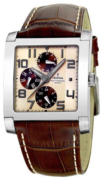 Festina F16235.B - мужские наручные часы из коллекции MultifunctionFestina<br><br><br>Бренд: Festina<br>Модель: Festina F16235/B<br>Артикул: F16235.B<br>Вариант артикула: None<br>Коллекция: Multifunction<br>Подколлекция: None<br>Страна: Испания<br>Пол: мужские<br>Тип механизма: кварцевые<br>Механизм: None<br>Количество камней: None<br>Автоподзавод: None<br>Источник энергии: от батарейки<br>Срок службы элемента питания: None<br>Дисплей: стрелки<br>Цифры: арабские<br>Водозащита: WR 30<br>Противоударные: None<br>Материал корпуса: нерж. сталь<br>Материал браслета: кожа<br>Материал безеля: None<br>Стекло: минеральное<br>Антибликовое покрытие: None<br>Цвет корпуса: None<br>Цвет браслета: None<br>Цвет циферблата: None<br>Цвет безеля: None<br>Размеры: None<br>Диаметр: None<br>Диаметр корпуса: None<br>Толщина: None<br>Ширина ремешка: None<br>Вес: None<br>Спорт-функции: None<br>Подсветка: стрелок<br>Вставка: None<br>Отображение даты: число, день недели<br>Хронограф: None<br>Таймер: None<br>Термометр: None<br>Хронометр: None<br>GPS: None<br>Радиосинхронизация: None<br>Барометр: None<br>Скелетон: None<br>Дополнительная информация: None<br>Дополнительные функции: None