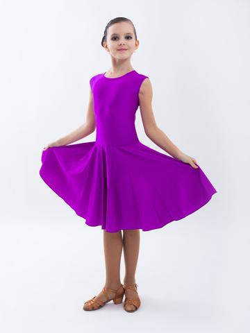 мк вязанное детское платье крючком