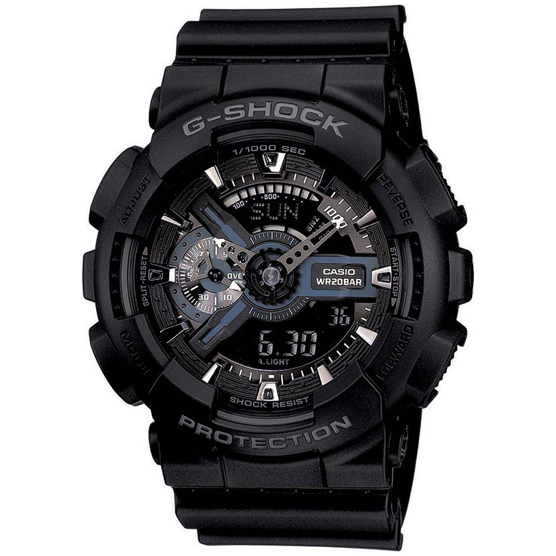 Casio G-SHOCK GA-110-1B / GA-110-1BER - оригинальные наручные часы от eBay RU