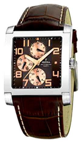 Festina F16235.C - мужские наручные часы из коллекции MultifunctionFestina<br><br><br>Бренд: Festina<br>Модель: Festina F16235/C<br>Артикул: F16235.C<br>Вариант артикула: None<br>Коллекция: Multifunction<br>Подколлекция: None<br>Страна: Испания<br>Пол: мужские<br>Тип механизма: кварцевые<br>Механизм: None<br>Количество камней: None<br>Автоподзавод: None<br>Источник энергии: None<br>Срок службы элемента питания: None<br>Дисплей: стрелки<br>Цифры: арабские<br>Водозащита: WR 50<br>Противоударные: None<br>Материал корпуса: не указан<br>Материал браслета: кожа<br>Материал безеля: None<br>Стекло: минеральное<br>Антибликовое покрытие: None<br>Цвет корпуса: None<br>Цвет браслета: None<br>Цвет циферблата: None<br>Цвет безеля: None<br>Размеры: 37x37 мм<br>Диаметр: None<br>Диаметр корпуса: None<br>Толщина: None<br>Ширина ремешка: None<br>Вес: None<br>Спорт-функции: None<br>Подсветка: дисплея<br>Вставка: None<br>Отображение даты: день недели<br>Хронограф: None<br>Таймер: None<br>Термометр: None<br>Хронометр: None<br>GPS: None<br>Радиосинхронизация: None<br>Барометр: None<br>Скелетон: None<br>Дополнительная информация: None<br>Дополнительные функции: None