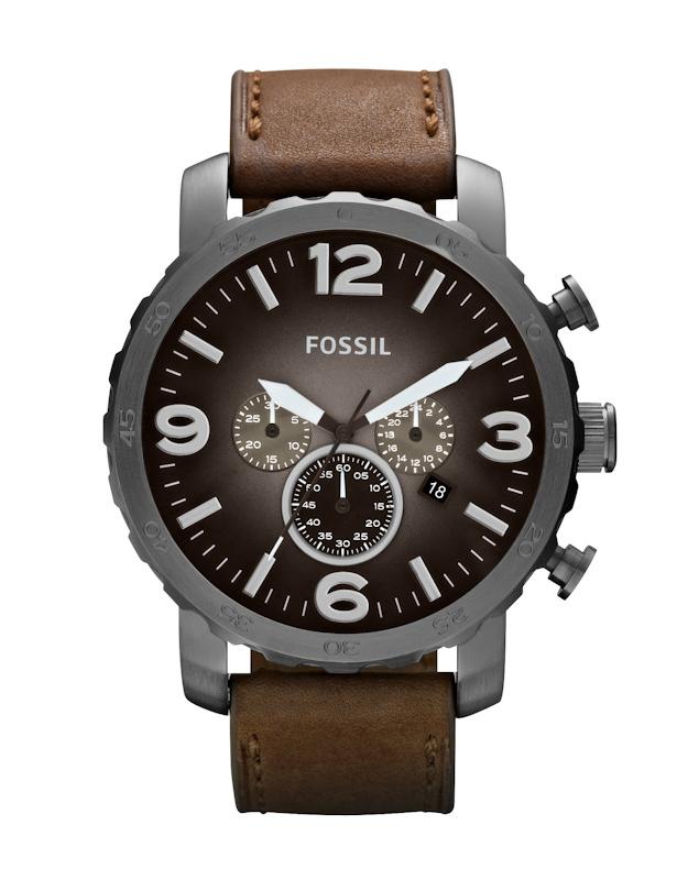 Fossil JR1424 - мужские наручные часы из коллекции NateFossil<br><br><br>Бренд: Fossil<br>Модель: Fossil JR1424<br>Артикул: JR1424<br>Вариант артикула: None<br>Коллекция: Nate<br>Подколлекция: None<br>Страна: США<br>Пол: мужские<br>Тип механизма: кварцевые<br>Механизм: None<br>Количество камней: None<br>Автоподзавод: None<br>Источник энергии: от батарейки<br>Срок службы элемента питания: None<br>Дисплей: стрелки<br>Цифры: арабские<br>Водозащита: WR 50<br>Противоударные: None<br>Материал корпуса: нерж. сталь, PVD покрытие (полное)<br>Материал браслета: кожа (не указан)<br>Материал безеля: None<br>Стекло: минеральное<br>Антибликовое покрытие: None<br>Цвет корпуса: None<br>Цвет браслета: None<br>Цвет циферблата: None<br>Цвет безеля: None<br>Размеры: 50x14 мм<br>Диаметр: None<br>Диаметр корпуса: None<br>Толщина: None<br>Ширина ремешка: None<br>Вес: None<br>Спорт-функции: секундомер<br>Подсветка: стрелок<br>Вставка: None<br>Отображение даты: число<br>Хронограф: есть<br>Таймер: None<br>Термометр: None<br>Хронометр: None<br>GPS: None<br>Радиосинхронизация: None<br>Барометр: None<br>Скелетон: None<br>Дополнительная информация: None<br>Дополнительные функции: второй часовой пояс