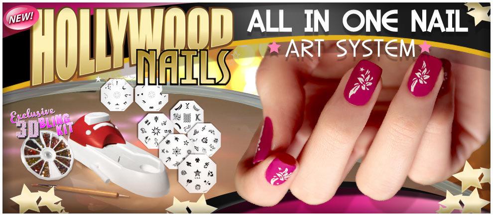 Штамп для ногтей Голивудские ногти