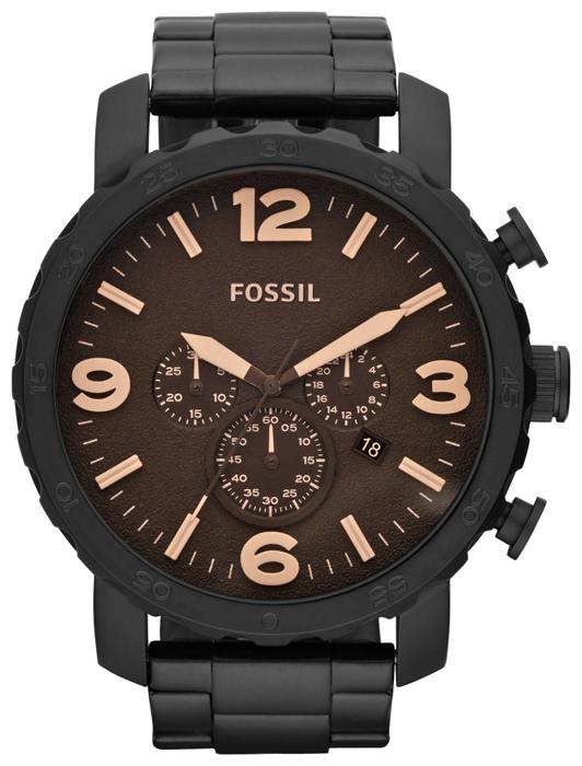 Fossil JR1356 - мужские наручные часы из коллекции FashionFossil<br><br><br>Бренд: Fossil<br>Модель: Fossil JR1356<br>Артикул: JR1356<br>Вариант артикула: None<br>Коллекция: Fashion<br>Подколлекция: None<br>Страна: США<br>Пол: мужские<br>Тип механизма: кварцевые<br>Механизм: None<br>Количество камней: None<br>Автоподзавод: None<br>Источник энергии: от батарейки<br>Срок службы элемента питания: None<br>Дисплей: стрелки<br>Цифры: арабские<br>Водозащита: WR 50<br>Противоударные: None<br>Материал корпуса: нерж. сталь, IP покрытие (полное)<br>Материал браслета: нерж. сталь, IP покрытие (полное)<br>Материал безеля: None<br>Стекло: минеральное<br>Антибликовое покрытие: None<br>Цвет корпуса: None<br>Цвет браслета: None<br>Цвет циферблата: None<br>Цвет безеля: None<br>Размеры: 50x13 мм<br>Диаметр: None<br>Диаметр корпуса: None<br>Толщина: None<br>Ширина ремешка: None<br>Вес: None<br>Спорт-функции: секундомер<br>Подсветка: None<br>Вставка: None<br>Отображение даты: число<br>Хронограф: есть<br>Таймер: None<br>Термометр: None<br>Хронометр: None<br>GPS: None<br>Радиосинхронизация: None<br>Барометр: None<br>Скелетон: None<br>Дополнительная информация: None<br>Дополнительные функции: None