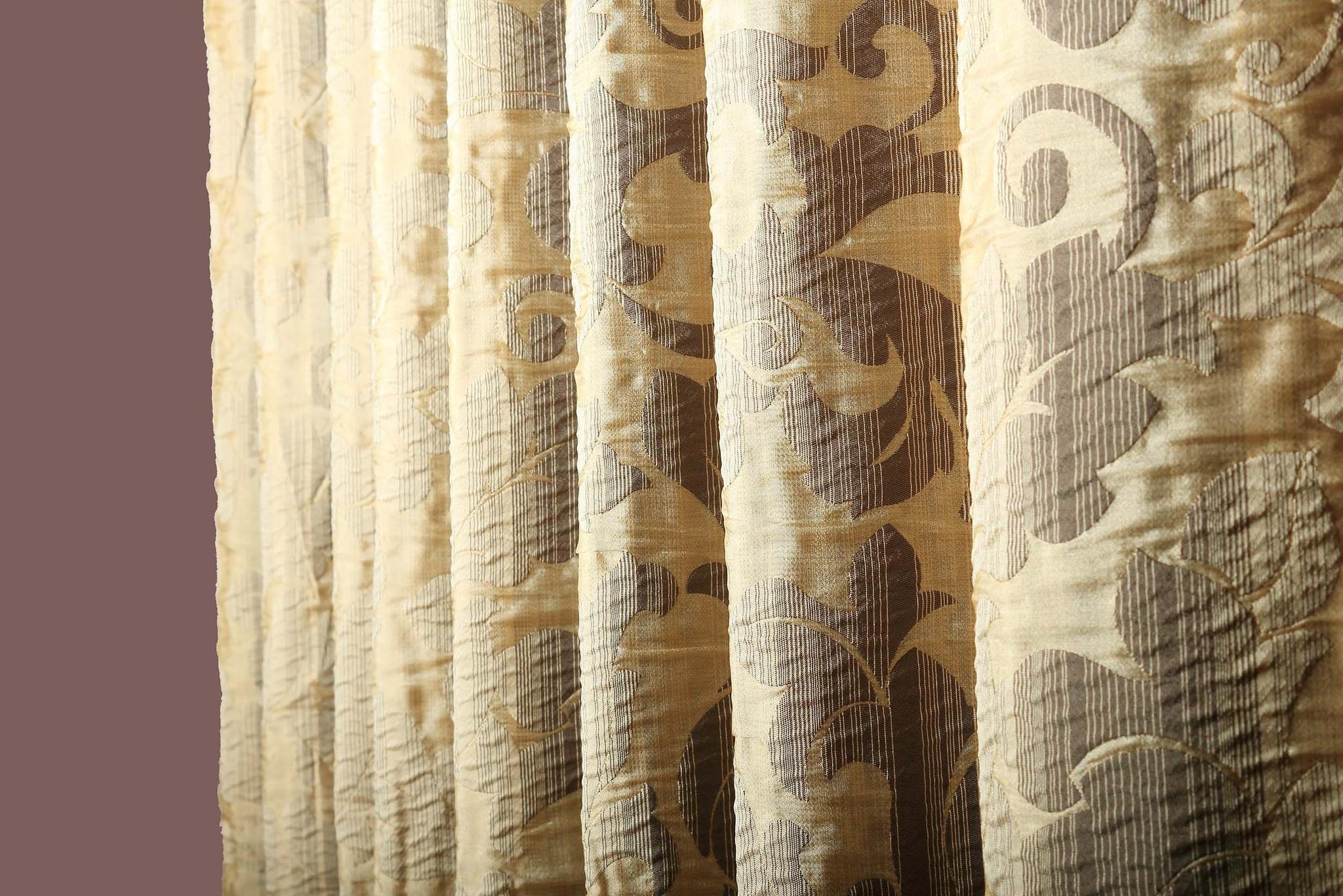 Шторы из портьерной ткани