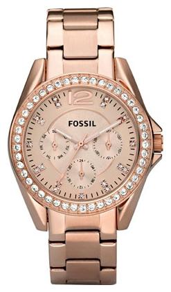 Fossil ES2811 - женские наручные часы из коллекции FashionFossil<br><br><br>Бренд: Fossil<br>Модель: Fossil ES2811<br>Артикул: ES2811<br>Вариант артикула: None<br>Коллекция: Fashion<br>Подколлекция: None<br>Страна: США<br>Пол: женские<br>Тип механизма: кварцевые<br>Механизм: None<br>Количество камней: None<br>Автоподзавод: None<br>Источник энергии: от батарейки<br>Срок службы элемента питания: None<br>Дисплей: стрелки<br>Цифры: арабские<br>Водозащита: WR 100<br>Противоударные: None<br>Материал корпуса: нерж. сталь, покрытие: позолота (полное)<br>Материал браслета: нерж. сталь, покрытие: позолота (полное)<br>Материал безеля: None<br>Стекло: минеральное<br>Антибликовое покрытие: None<br>Цвет корпуса: None<br>Цвет браслета: None<br>Цвет циферблата: None<br>Цвет безеля: None<br>Размеры: 36 мм<br>Диаметр: None<br>Диаметр корпуса: None<br>Толщина: None<br>Ширина ремешка: None<br>Вес: None<br>Спорт-функции: None<br>Подсветка: стрелок<br>Вставка: кристаллы Swarovski<br>Отображение даты: число, день недели<br>Хронограф: None<br>Таймер: None<br>Термометр: None<br>Хронометр: None<br>GPS: None<br>Радиосинхронизация: None<br>Барометр: None<br>Скелетон: None<br>Дополнительная информация: корпус и браслет с розовой позолотой<br>Дополнительные функции: None