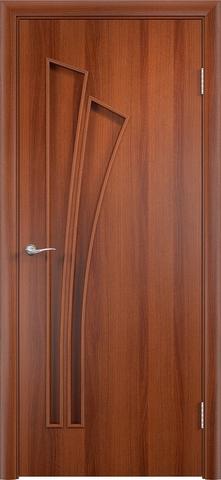 Дверь Верда C-7, цвет итальянский орех, глухая