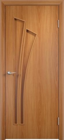 Дверь Верда C-7, цвет миланский орех, глухая