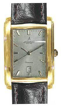 Atlantic 27343.45.41 - мужские наручные часы из коллекции SeamoonAtlantic<br><br><br>Бренд: Atlantic<br>Модель: Atlantic 27343.45.41<br>Артикул: 27343.45.41<br>Вариант артикула: None<br>Коллекция: Seamoon<br>Подколлекция: None<br>Страна: Швейцария<br>Пол: мужские<br>Тип механизма: кварцевые<br>Механизм: ETA F05.111<br>Количество камней: None<br>Автоподзавод: None<br>Источник энергии: от батарейки<br>Срок службы элемента питания: None<br>Дисплей: стрелки<br>Цифры: отсутствуют<br>Водозащита: WR 30<br>Противоударные: None<br>Материал корпуса: нерж. сталь, покрытие: позолота<br>Материал браслета: кожа<br>Материал безеля: None<br>Стекло: сапфировое<br>Антибликовое покрытие: None<br>Цвет корпуса: None<br>Цвет браслета: None<br>Цвет циферблата: None<br>Цвет безеля: None<br>Размеры: 28x41 мм<br>Диаметр: None<br>Диаметр корпуса: None<br>Толщина: None<br>Ширина ремешка: None<br>Вес: None<br>Спорт-функции: None<br>Подсветка: None<br>Вставка: None<br>Отображение даты: число<br>Хронограф: None<br>Таймер: None<br>Термометр: None<br>Хронометр: None<br>GPS: None<br>Радиосинхронизация: None<br>Барометр: None<br>Скелетон: None<br>Дополнительная информация: None<br>Дополнительные функции: None