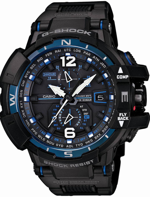 Casio G-SHOCK GW-A1100FC-1A / GW-A1100FC-1AER - оригинальные наручные часы