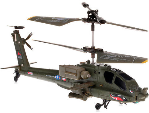 Buy 35 ch new syma s109g mini infrared apache shark s109 rc mini indoor helicopter p2 at wwwelectronicsbuyherecom!