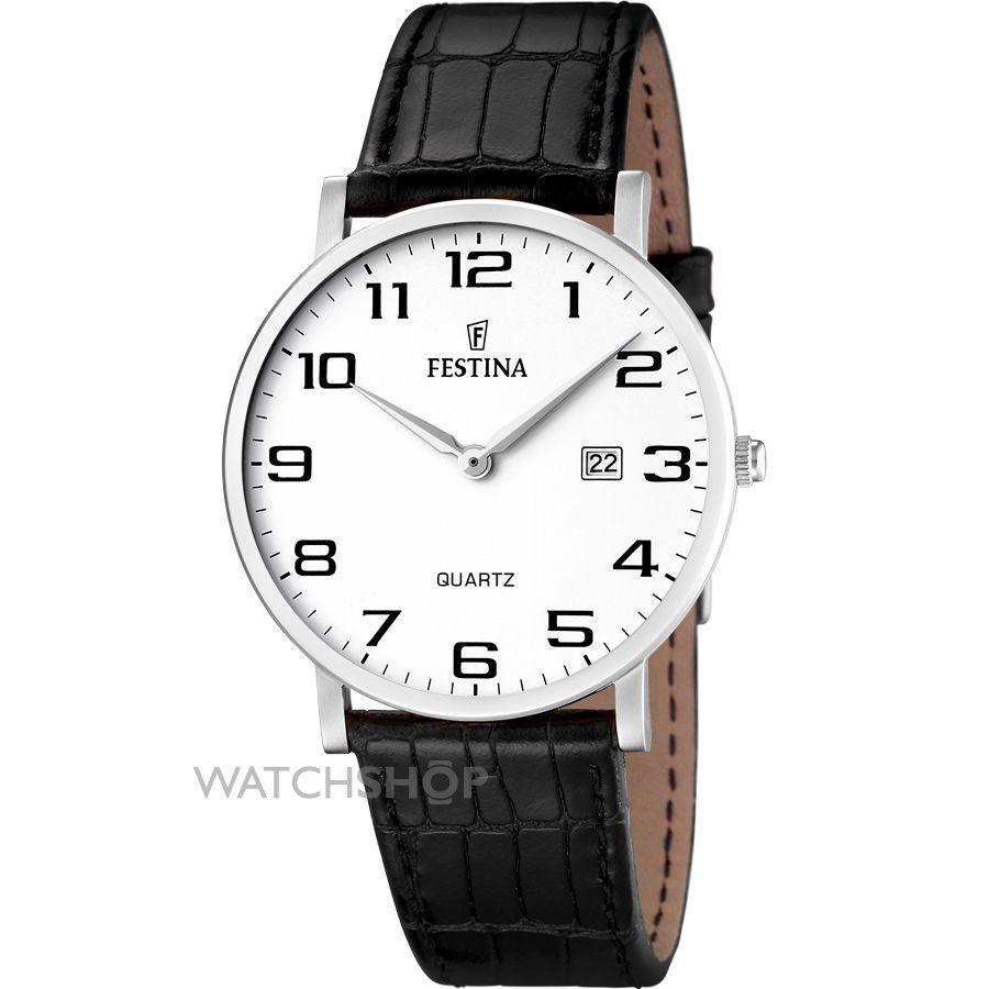 Festina F16476.1 - мужские наручные часы из коллекции ClassicFestina<br><br><br>Бренд: Festina<br>Модель: Festina F16476/1<br>Артикул: F16476.1<br>Вариант артикула: None<br>Коллекция: Classic<br>Подколлекция: None<br>Страна: Испания<br>Пол: мужские<br>Тип механизма: кварцевые<br>Механизм: None<br>Количество камней: None<br>Автоподзавод: None<br>Источник энергии: от батарейки<br>Срок службы элемента питания: None<br>Дисплей: стрелки<br>Цифры: арабские<br>Водозащита: WR 30<br>Противоударные: None<br>Материал корпуса: нерж. сталь<br>Материал браслета: кожа<br>Материал безеля: None<br>Стекло: минеральное<br>Антибликовое покрытие: None<br>Цвет корпуса: None<br>Цвет браслета: None<br>Цвет циферблата: None<br>Цвет безеля: None<br>Размеры: None<br>Диаметр: None<br>Диаметр корпуса: None<br>Толщина: None<br>Ширина ремешка: None<br>Вес: None<br>Спорт-функции: None<br>Подсветка: None<br>Вставка: None<br>Отображение даты: число<br>Хронограф: None<br>Таймер: None<br>Термометр: None<br>Хронометр: None<br>GPS: None<br>Радиосинхронизация: None<br>Барометр: None<br>Скелетон: None<br>Дополнительная информация: None<br>Дополнительные функции: None