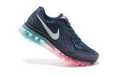 Кроссовки женские Nike Air Max 2014 Dk Blue Pink