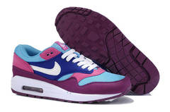 Кроссовки женские Nike Air Max 87 Purple Blue Pink