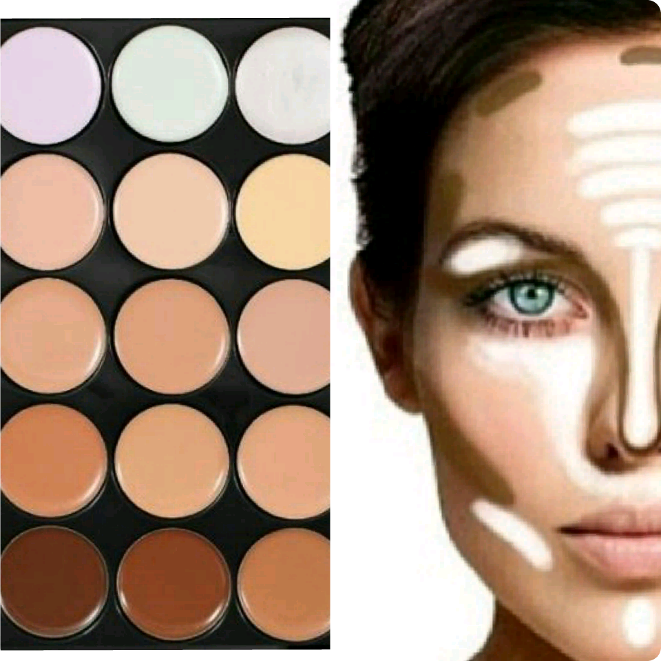 Contouring makeup kit mac