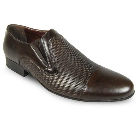 Мужские туфли с перфорацией купить в