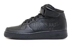 Кроссовки Женские Nike Air Force 1 Mid Black