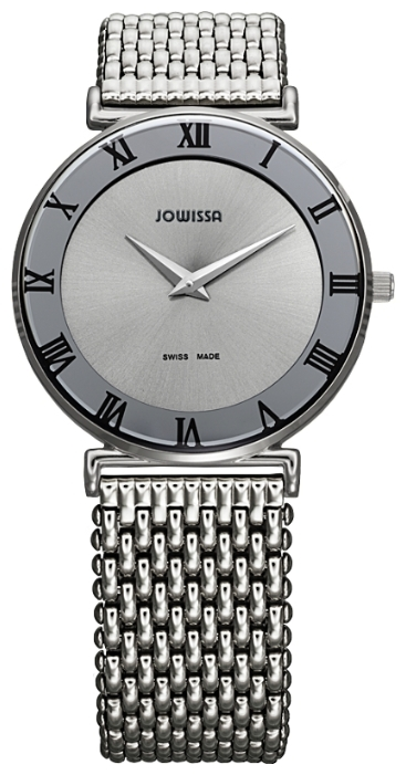 Jowissa J2.005.L - женские наручные часы из коллекции RomaJowissa<br><br><br>Бренд: Jowissa<br>Модель: Jowissa J2.005.L<br>Артикул: J2.005.L<br>Вариант артикула: None<br>Коллекция: Roma<br>Подколлекция: None<br>Страна: Швейцария<br>Пол: женские<br>Тип механизма: кварцевые<br>Механизм: Ronda 762<br>Количество камней: None<br>Автоподзавод: None<br>Источник энергии: от батарейки<br>Срок службы элемента питания: None<br>Дисплей: стрелки<br>Цифры: римские<br>Водозащита: WR 30<br>Противоударные: None<br>Материал корпуса: нерж. сталь<br>Материал браслета: нерж. сталь<br>Материал безеля: None<br>Стекло: минеральное<br>Антибликовое покрытие: None<br>Цвет корпуса: None<br>Цвет браслета: None<br>Цвет циферблата: None<br>Цвет безеля: None<br>Размеры: 35x35 мм<br>Диаметр: None<br>Диаметр корпуса: None<br>Толщина: None<br>Ширина ремешка: None<br>Вес: None<br>Спорт-функции: None<br>Подсветка: None<br>Вставка: None<br>Отображение даты: None<br>Хронограф: None<br>Таймер: None<br>Термометр: None<br>Хронометр: None<br>GPS: None<br>Радиосинхронизация: None<br>Барометр: None<br>Скелетон: None<br>Дополнительная информация: None<br>Дополнительные функции: None