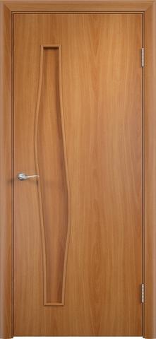 Дверь Верда С-10, цвет миланский орех, глухая