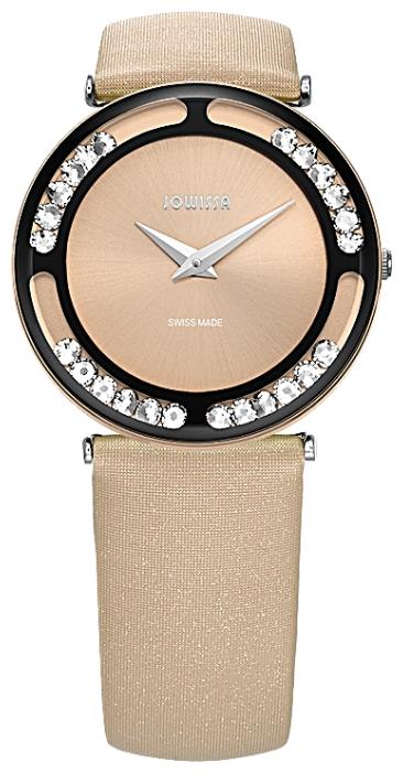Jowissa J6.156.M - женские наручные часы из коллекции LuceJowissa<br><br><br>Бренд: Jowissa<br>Модель: Jowissa J6.156.M<br>Артикул: J6.156.M<br>Вариант артикула: None<br>Коллекция: Luce<br>Подколлекция: None<br>Страна: Швейцария<br>Пол: женские<br>Тип механизма: кварцевые<br>Механизм: Ronda 762<br>Количество камней: None<br>Автоподзавод: None<br>Источник энергии: от батарейки<br>Срок службы элемента питания: None<br>Дисплей: стрелки<br>Цифры: отсутствуют<br>Водозащита: WR 30<br>Противоударные: None<br>Материал корпуса: нерж. сталь + алюминий, IP покрытие (полное)<br>Материал браслета: текстиль<br>Материал безеля: None<br>Стекло: минеральное<br>Антибликовое покрытие: None<br>Цвет корпуса: None<br>Цвет браслета: None<br>Цвет циферблата: None<br>Цвет безеля: None<br>Размеры: 30 мм<br>Диаметр: None<br>Диаметр корпуса: None<br>Толщина: None<br>Ширина ремешка: None<br>Вес: None<br>Спорт-функции: None<br>Подсветка: None<br>Вставка: None<br>Отображение даты: None<br>Хронограф: None<br>Таймер: None<br>Термометр: None<br>Хронометр: None<br>GPS: None<br>Радиосинхронизация: None<br>Барометр: None<br>Скелетон: None<br>Дополнительная информация: None<br>Дополнительные функции: None